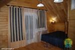 Санаторий Ключи - деревянные коттеджи, Спальная 1
