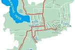 Схема проезда к санаторию - Металлург