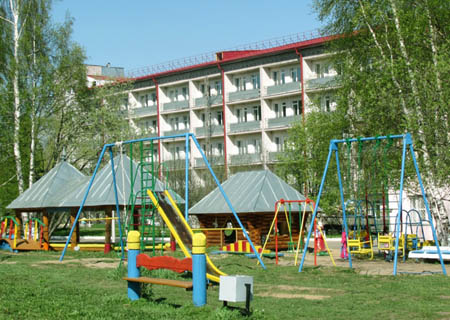 Санаторий расположен в поселке