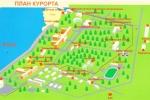 План курорта-санатория - Усть-Качка